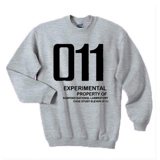 011 Experimental property of hawkins national laboratory sweatshirt