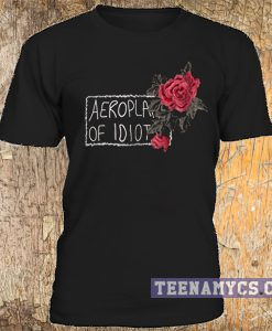 Aeroplane of idiot t-shirt