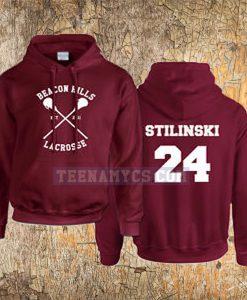 Beacon Hills Lacrosse Stilinski Hoodie