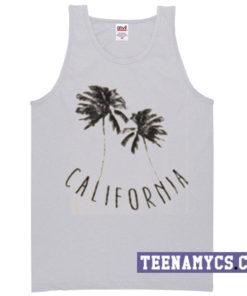California (palm trees) Tank top