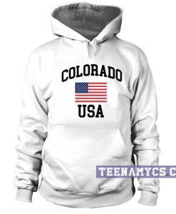 Colorado USA Hoodie