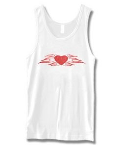 Flame Heart Tank top