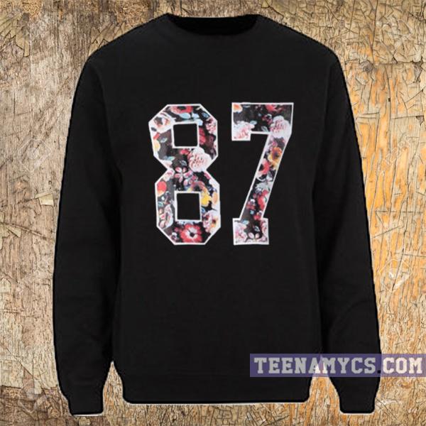 Floral 87 Sweatshirt