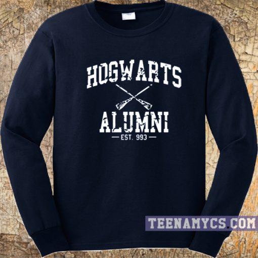 Hogwarts alumni navy sweatshirt