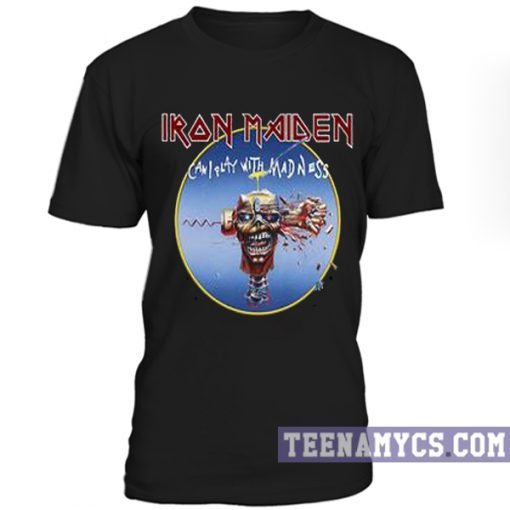 Iron Maiden Can I Play With Madness T-Shirt