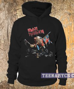 Iron Maiden the trooper Hoodie