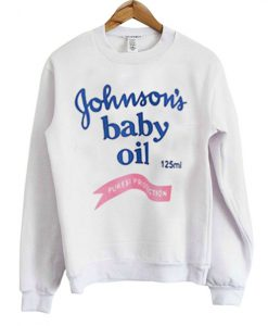 Johnson's Baby Oil Sweatshirt