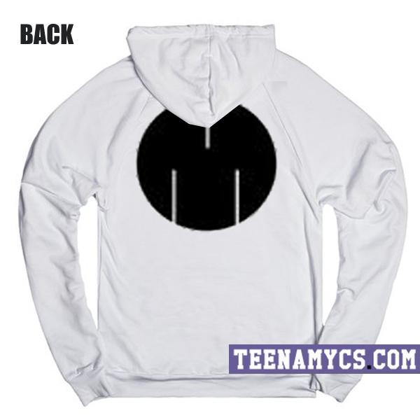 msftsrep white hoodie