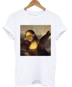 Monalisa Dabbing T-shirt