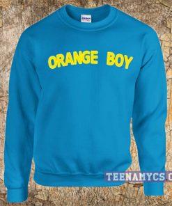 Orange Boy Sweatshirt