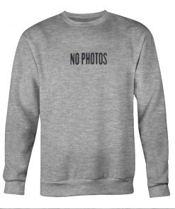 Purpose Tour 2016 (No Photos) Sweatshirt