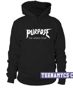 Purpose the world tour Hoodie
