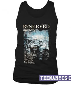 Reserved Big Town tank top