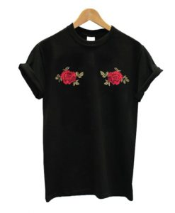 Rose Boobs T-shirt