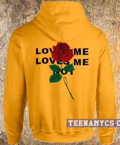 Rose loves me not Hoodie