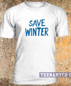 Save winter t-shirt
