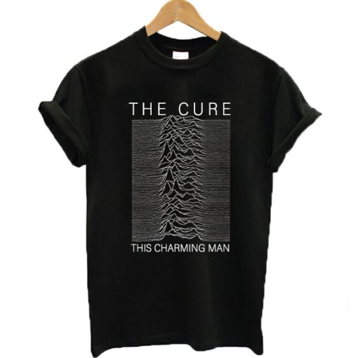 The Cure This Charming Man Joy Division T-shirt