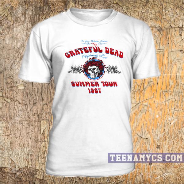 483b1a2a917c The Grateful Dead summer tour 1987 t shirt - teenamycs