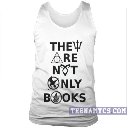 They are not only books Tank top