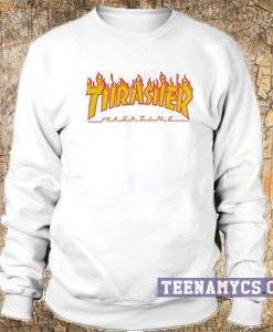 Thrasher Flame logo Sweatshirt
