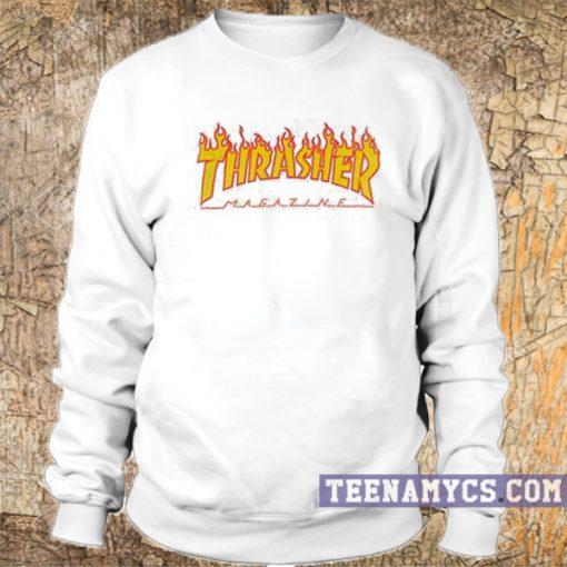 Thrasher Flame logo Sweatshirt