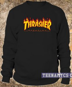 Thrasher flame logo Sweatshirt 2
