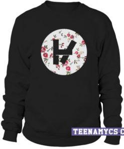 Twenty One Pilots Floral Logo Sweatshirt