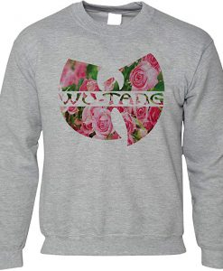 Wu-tang Clan Floral Sweatshirt