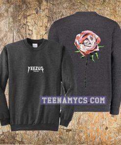 Yeezus Tour wes lang Rose Sweatshirt