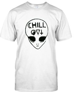 alien chill out tshirt