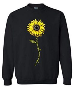 You are my sunshine hippie sunflower sweatshirt