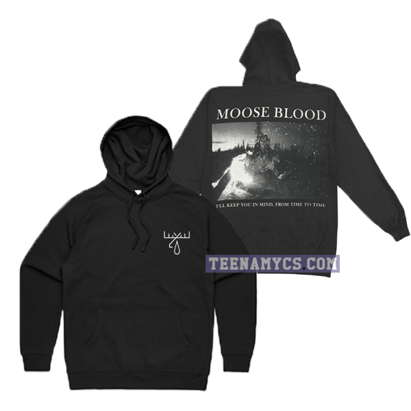 Moose Blood I'll keep you in mind from time to time Hoodie