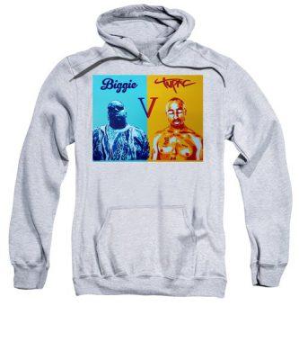 Biggie V Tupac Hoodie