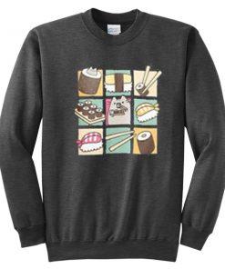 Pusheen Sushi Sweatshirt
