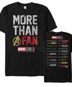 Marvel More Than a Fan T-shirt