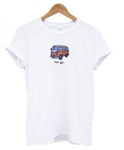 Van Go Bus Graphic T-shirt