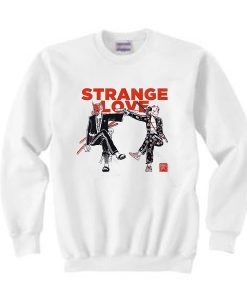 Strange Love Graphic Sweatshirt