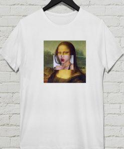 Mona Lisa Lolipop T-shirt