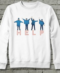 The Beatles Help Sweatshirt