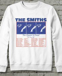 The Smiths The Queen is dead Us tour 86 Sweatshirt