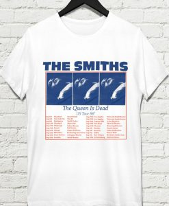 The Smiths The Queen is dead Us tour 86 t-shirt