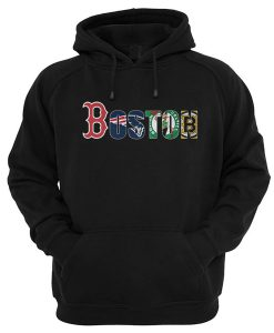 Boston Red Sox New England Patriots Celtics Bruins Hoodie