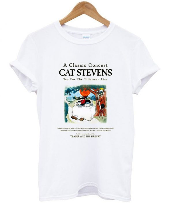 Cat Stevens Teaser and The Firecat T-shirt