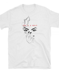 She's A Wolf Graphic T-shirt
