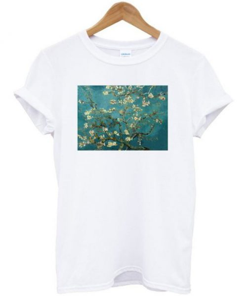 Blossoming Almond Tree Vincent Van Gogh T-shirt