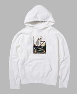 Death Of Emotions Card Hoodie