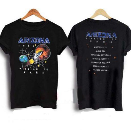 Arizona Space Mission To Mars T-shirt