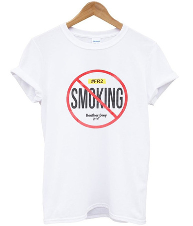 No Smoking Fucking Rabbit T-Shirt