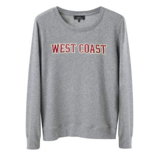 West Coast Printed Sweatshirt