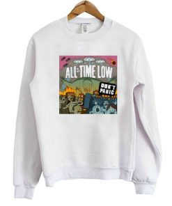 All Time Low Don't Panic Sweatshirt